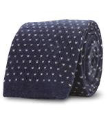 The Navy Morgan Knit Tie