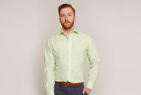 The Green Nolan Houndstooth