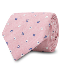 The Pink Lockhart Tie