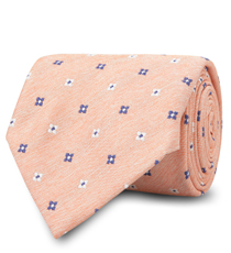 The Orange Lockhart Tie