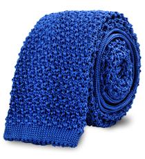 The Blue Caden Knit Tie