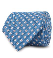 The Blue Truman Floral Tie