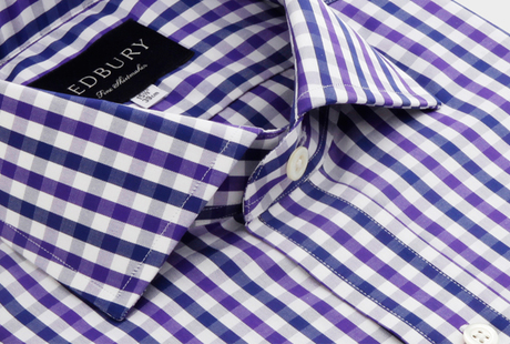 The Purple Starks Gingham