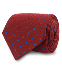 The Burgundy Halsted Tie