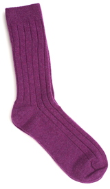 The Imperial Purple Alastair Casmere Sock