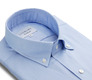The Blue Oxford Slim Fit collar
