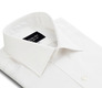 The White Fine Twill French Cuff Slim Fit collar