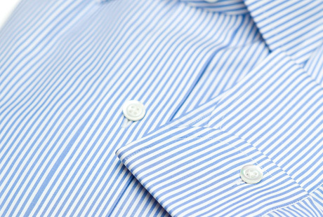 The Light Blue Bengal Slim Fit singlecuff