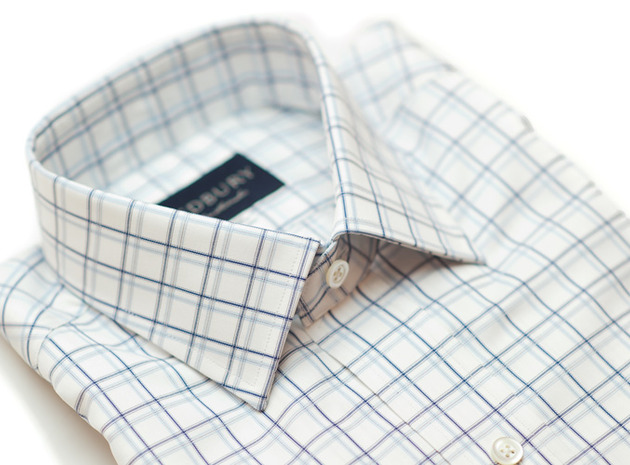 The Atherton 120 Slim Fit collar