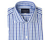 The Blue Starks Gingham Slim Fit shirt