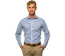 The Blue Starks Gingham Slim Fit modelcrop