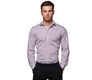The Purple Box Check Spread Slim Fit modelcrop