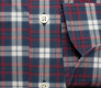 The Allen Plaid Slim Fit singlecuff