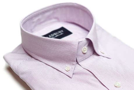 The Purple Micro-Check  collar