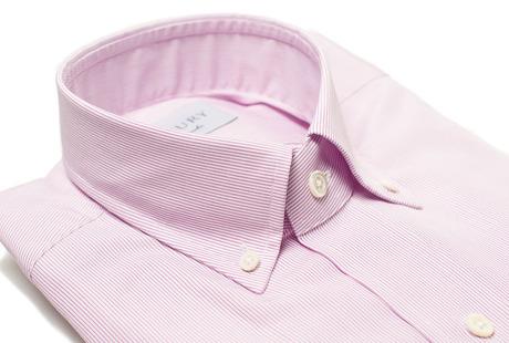 The Purple Micro Stripe collar