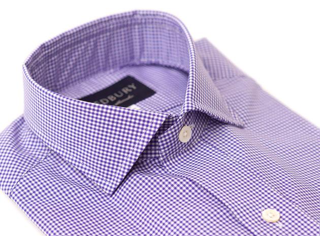 The Purple Cross Cutaway collar