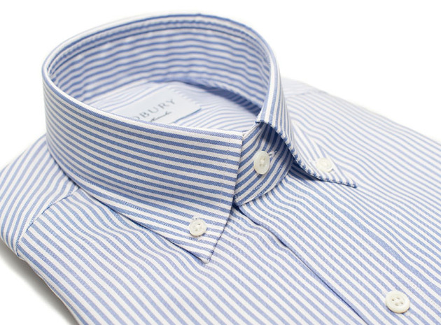 The Blue Bengal Oxford collar
