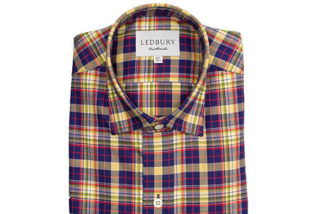 The Griffin Flannel Slim Fit shirt