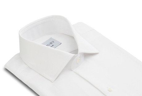 The Tuxedo Shirt Slim Fit collar