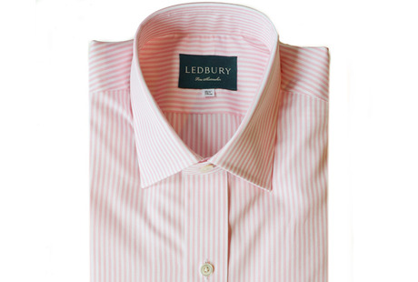The Pink Bengal Worker Slim Fit shirt