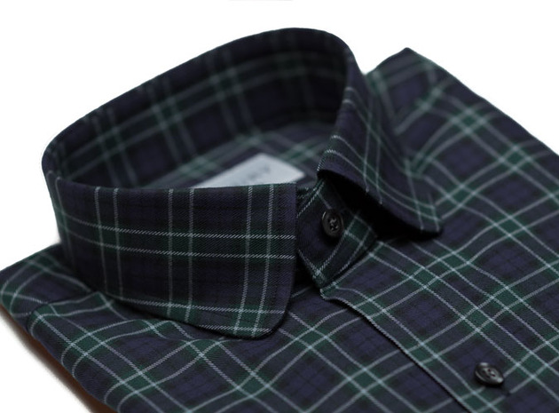 The Black Watch Roosevelt Slim Fit collar