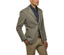 The Grey Herringbone Sport Coat Slim Fit modelcrop