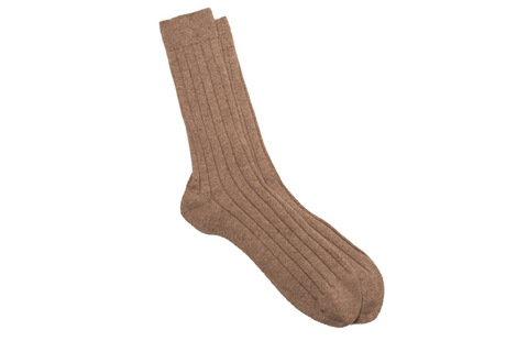 The Beige Alastair Sock collar