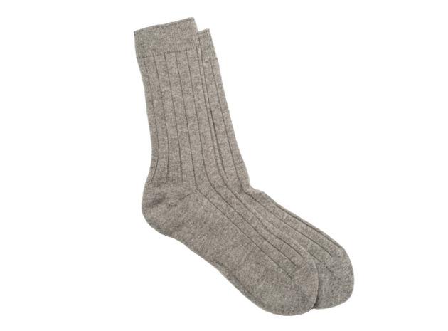 The Grey Alastair Sock collar