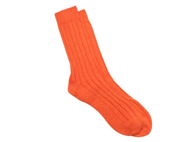 The Orange Alastair Sock collar