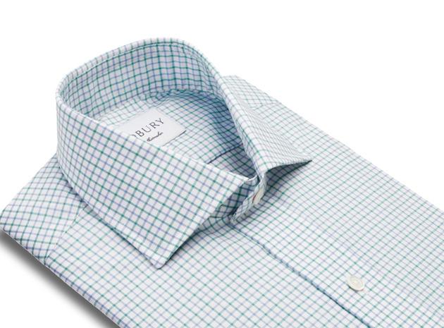 The Green Montgomery Check collar