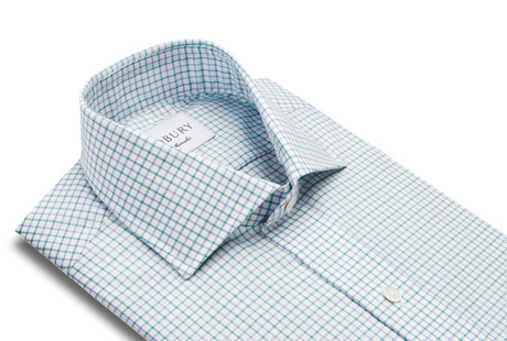 The Green Montgomery Check collar