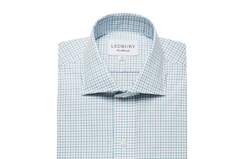 The Green Montgomery Check shirt