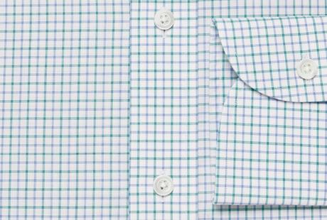 The Green Montgomery Check singlecuff