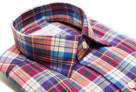 The Burke Flannel collar
