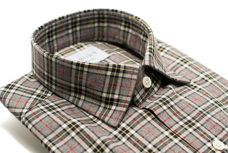 The Howard Flannel collar