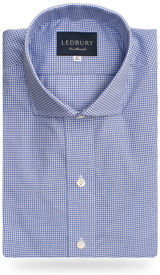 The Blue Cross Gingham Cutaway