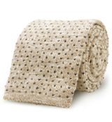 The Beige Morgan Knit Tie
