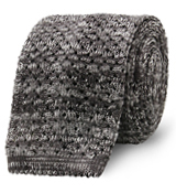 The Grey Hudson Knit Tie