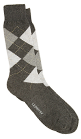 The Grey Layton Argyle Sock