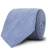 The Blue Corben Dot Tie