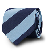 The Blue Derby Stripe Tie